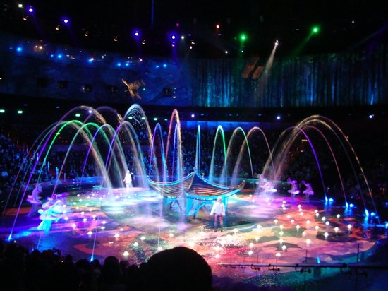 The House of Dancing Water: photo from entire show