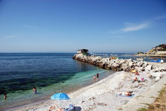 Nessebar, Bulgaria: Набережная, северная часть.