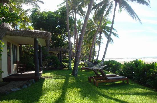 Outrigger Fiji Beach Resort : View from our Bure