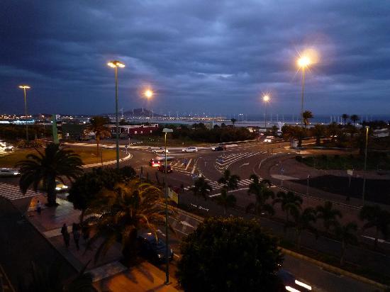 Vecindario, Hiszpania: Vue du balcon