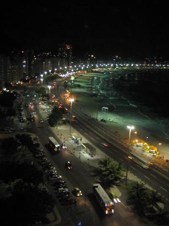 Orla Copacabana Hotel: View from the roof