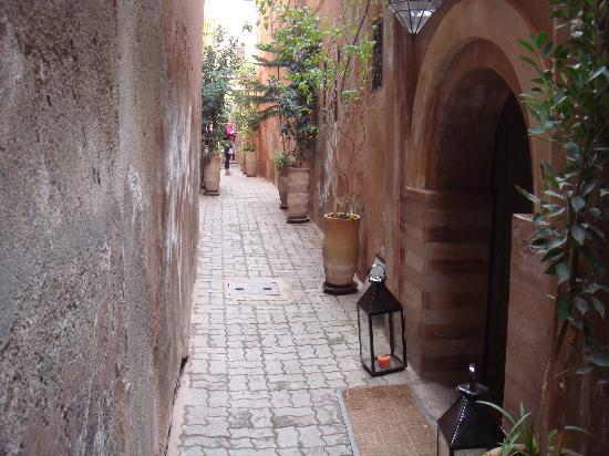 Riad Dar One : Indiana Jones eat your heart out