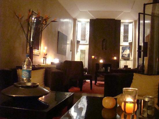 Riad Dar One : Lounge Area