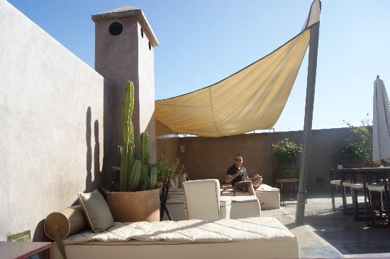 Riad Dar One : Roof Terrace