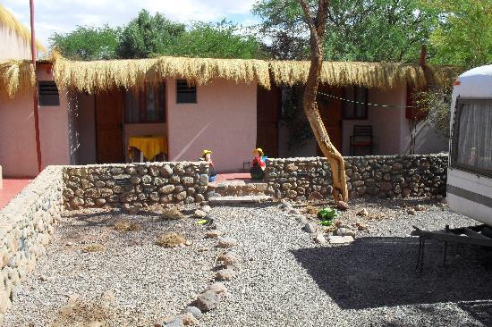 Portal Andino Lodge: Patio