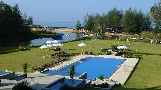 Khao Lak Riverside Resort & Spa: View from our room