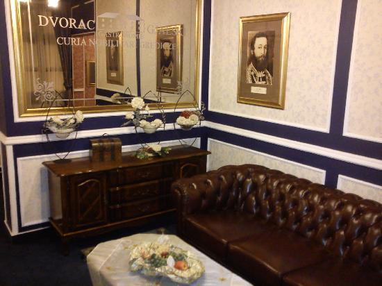Hotel Dvorac Gjalski : Hallway