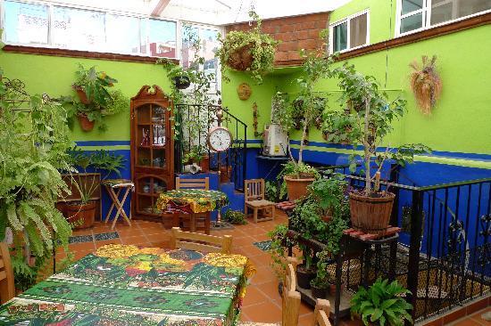 Casa De Pita: Frühstücksraum oben