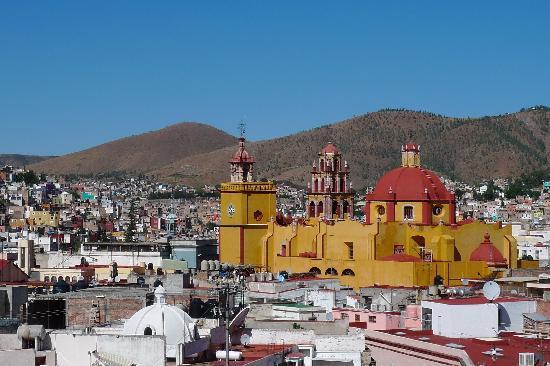 Casa De Pita: Blick von der Dachterrasse auf die Stadt
