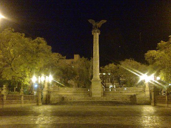 Plaza Patria y Exedra: Exedra. Aguascalientes. Mexico