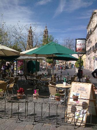 Plaza Patria y Exedra: Plaza de la Patria. Aguascalientes. México