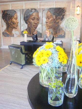 Delaire Graff Estate - Lodges and Spa: Reception at Hotel