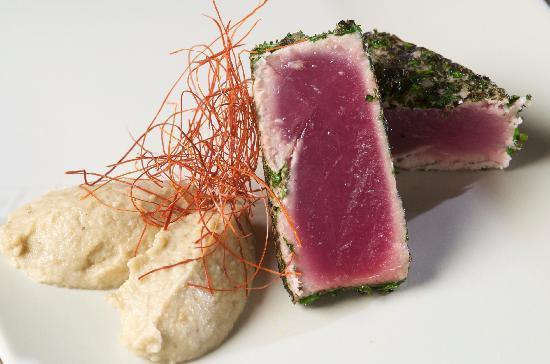 La Perla del Mare: filetto di tonno agli aromi