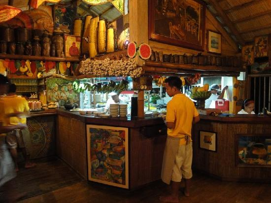 Kitchen with ethnic arts picture of kalui restaurant for Kitchen arts sa