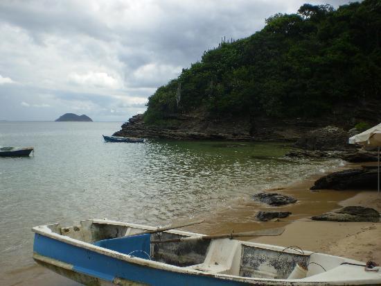 Pousada Areias Brancas: playa