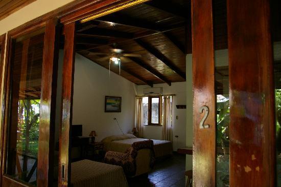 Hotel Rancho Coral : belles boiseries