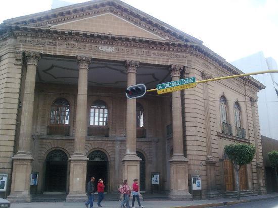 Leon, Meksiko: Teatro Manuel Doblado. León, Guanajuato. Mexico
