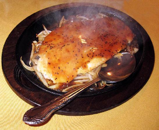 Xi'an Sizzling Cod Filet