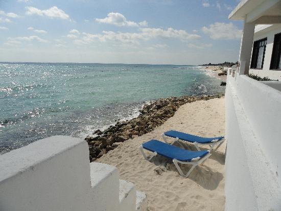 Hacienda del Secreto: Beach at Casa del Secreto