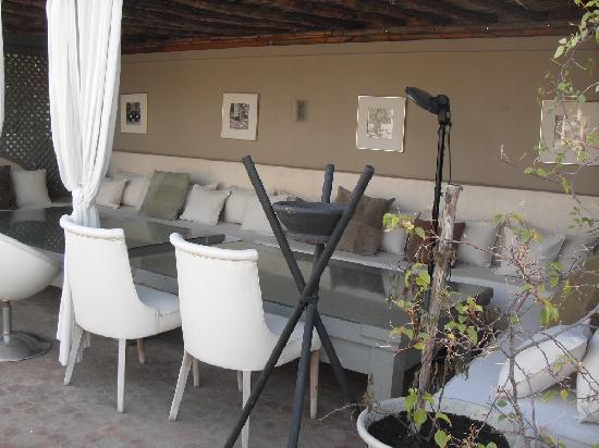 Riad O: La terrasse