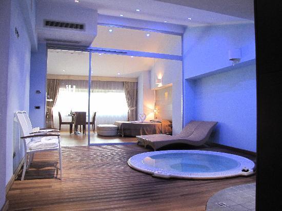 Hotel Lovere Resort & Spa: Vista dall'ingresso
