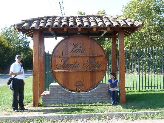 Alto Jahuel, Chile: Entrada a la Viña