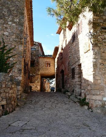 Siurana calle mayor