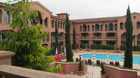Fairmont Grand Del Mar: View from our suite