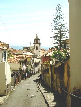 Funchal, Portugal: So menschenleer sind die Gassen nur am Sonntag
