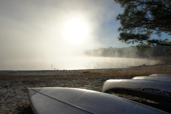 Gold Head Branch State Park: Foggy morning on the lake