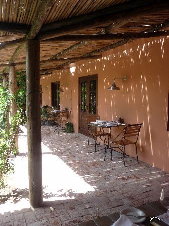Hotel Fasano Punta del Este: exterieur restaurant - partie antique du lieu