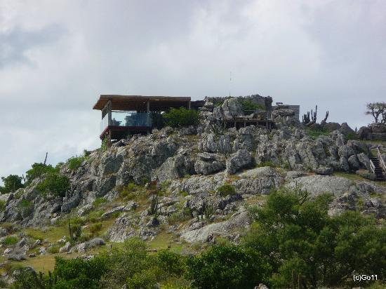 Hotel Fasano Punta del Este: le restaurant ouvert le soir - hôtel = bungalows ch/suites
