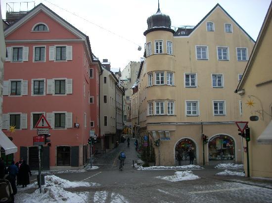 Steinerne Brücke: Regensburg is full of wonderful old structures lining narrow streets.