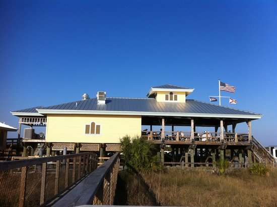 South Beach Pavilion Cafe Honeymoon Island