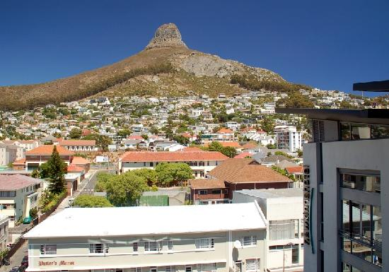 New Kings Hotel: View from Room - Lion's Head