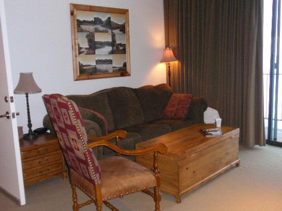 Lodge at Stillwater: Living room area