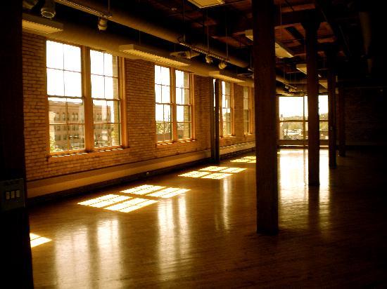 Plains Art Museum: Open Space on Top Floor