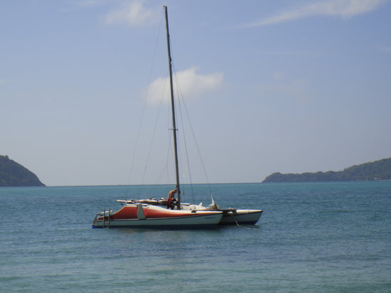 Andaman Sea Club Sailing Charters: Peaceful anchorage