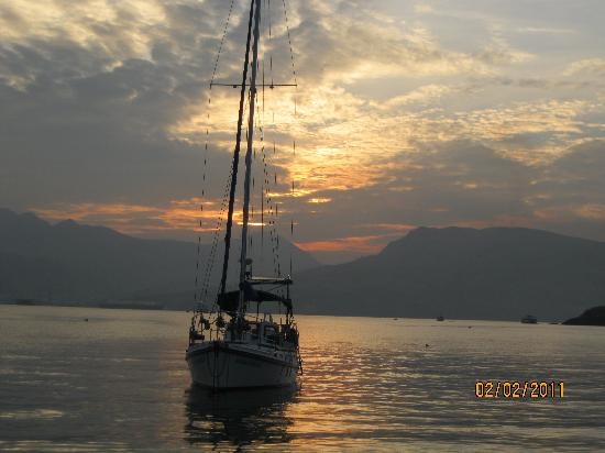Arizona International Resort: Another beautiful Subic Bay Sunset