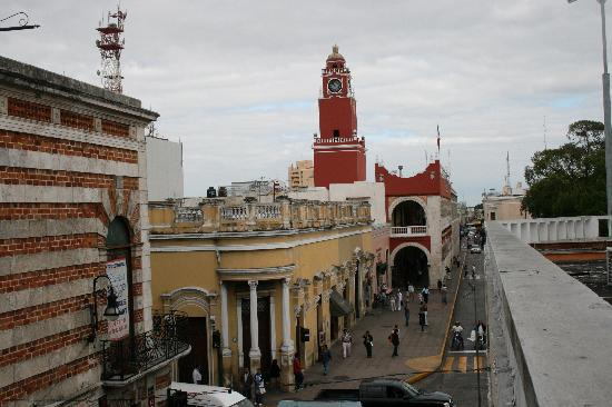 Merida, Mexico: Balcony View
