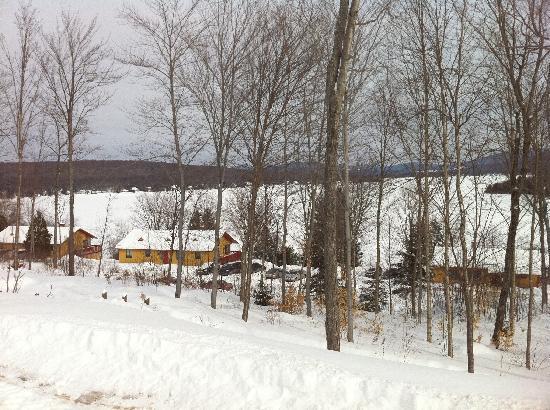 Sainte Catherine de la Jacques Cartier, Kanada: lac st. joseph