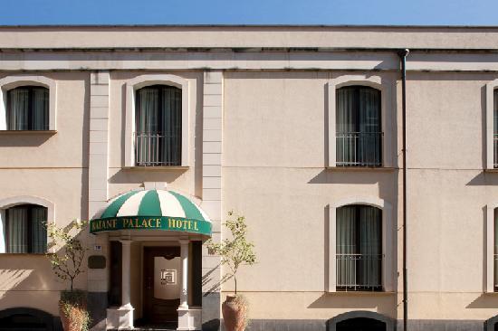 Katane Palace Hotel: ingresso