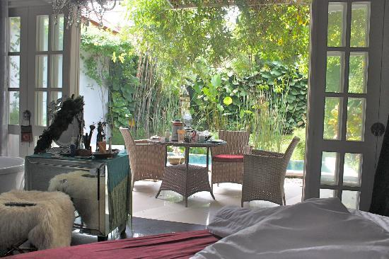 Casa Artista Bali : view to Obsession garden