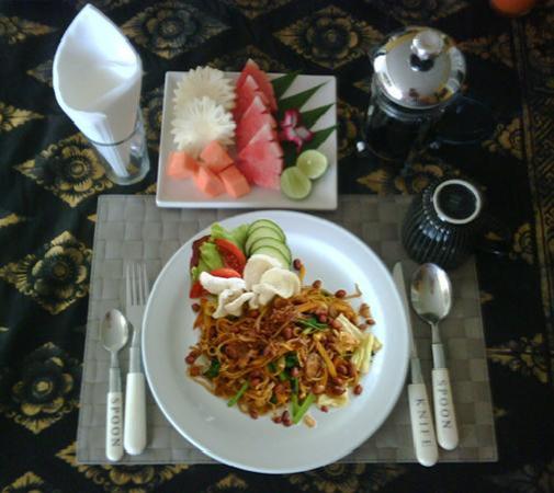 Casa Artista Bali: Indonesian Breakfast