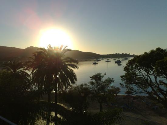 Hotel Miramar: Sun rise at the Miramar