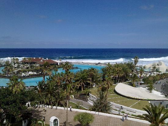 H10 Tenerife Playa : Vistas desde la habitacion