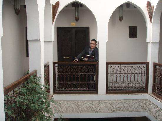Riad Aguaviva: Salida de la habitacion