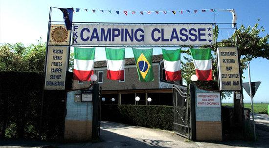 Camping Classe Village : L'entrata del camping classe