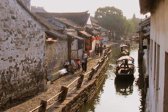 La vrai ville de Suzhou