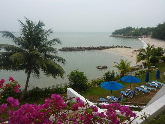 Tanjung Bungah, Malasia: View from the balcony